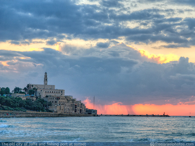 Jaffa at sunset