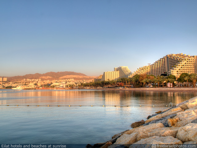 Eilat hotels and beaches